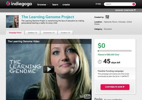The Learning Genome Project Personalized Learning   technoscience   Scoop.it