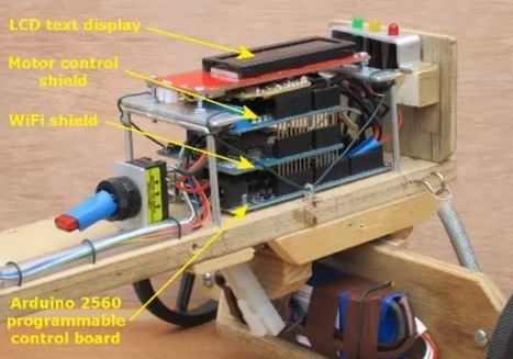 Wood Lizzie is a DIY Soap Box Cart controlled via Wi-Fi | STEM | Scoop.it