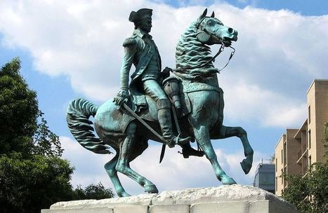 Happy 4th of July - George Washington's valiant Revoluntiary War steed Nelson | Equestrian Vacations | Scoop.it