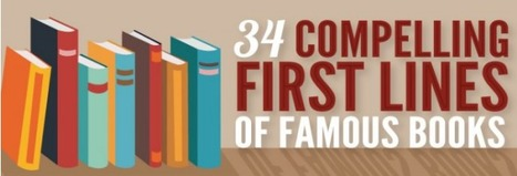 The Opening Lines Of The World's Most Famous Books [Infographic]   Daily Infographic   Things and Stuff   Scoop.it