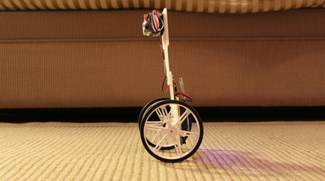 How to: Super Simple Self-Balancing Robot Tutorial | Hack N Mod | Makers | Scoop.it
