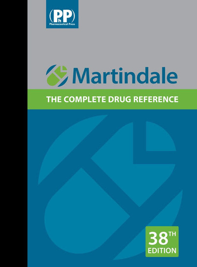 Free download martindale: the complete drug reference pdf free.