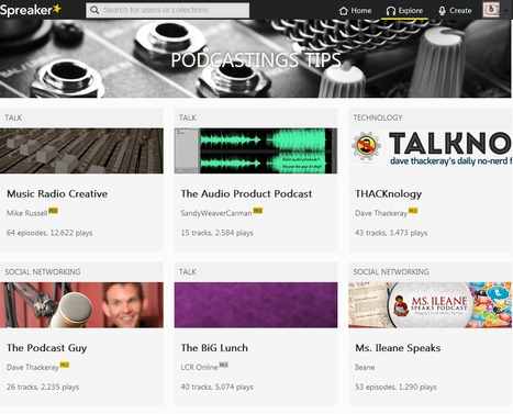Podcasting Tips Page on Spreaker - Be Heard | Podcasts | Scoop.it