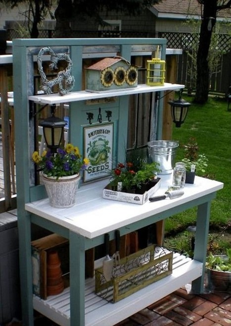 Groovy Pallet Wood Potting Bench Plans Recycled Thin Ibusinesslaw Wood Chair Design Ideas Ibusinesslaworg