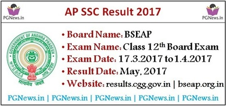 AP 10th Class (SSC) 2017 Hall Ticket @manabadi