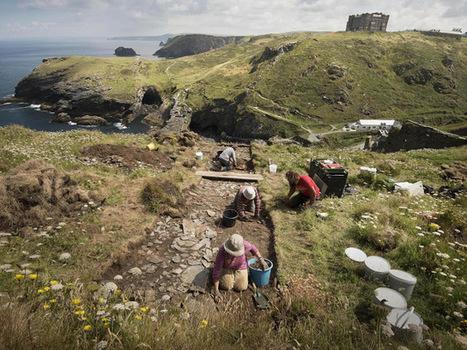 King Arthur's Tintagel 'birthplace' dig finds 'royal residence' | Histoire et archéologie des Celtes, Germains et peuples du Nord | Scoop.it