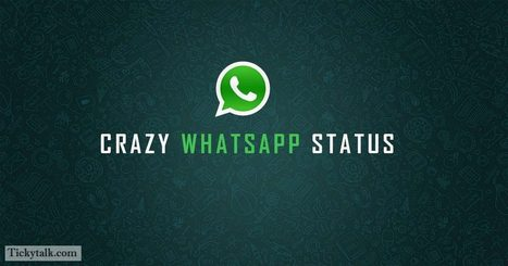 100 Crazy Whatsapp Status That Makes No Sense