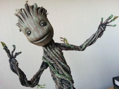 Dancing Groot from Guardians of the Galaxy. Actually dances! TUTORIAL | DIY | Maker | Scoop.it