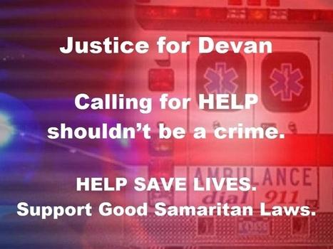 Justice for Devan Miller: Protect Good Samaritan Laws | Social Worker | Scoop.it