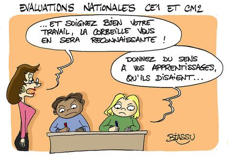 CE1 et CM2, des évaluations nationales destinées... à la corbeille ! | LYFtv - Lyon | Scoop.it