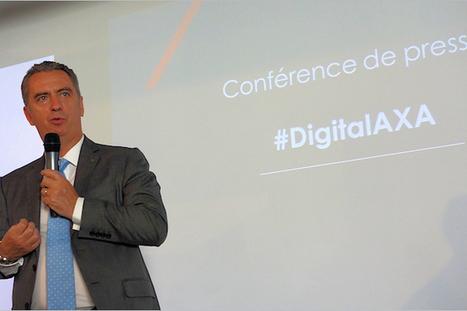 L'ouverture des systèmes informatiques pèse lourd dans le budget digital d'Axa | Digital marketing | Scoop.it