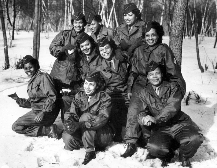 First all-black WAC unit to go overseas in WWII | Herstory | Scoop.it