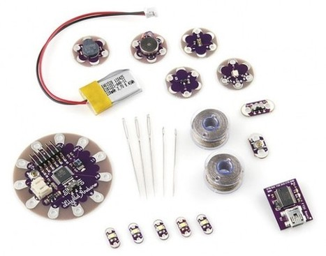 New in the Maker Shed: Lilypad Beginner's Kit | Arduino Focus | Scoop.it
