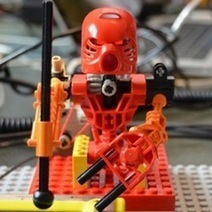 World's First Robotic LEGO Band Rocks Out : DNews | robotics in society | Scoop.it