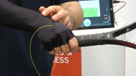 Xelflex smart fabric gives athletes intelligent feedback during performance | Amazing Science | Scoop.it