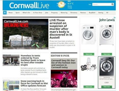Sacked reporter takes on Trinity Mirror in Cornwall with upmarket paid-for website – Press Gazette | Multimedia Journalism | Scoop.it