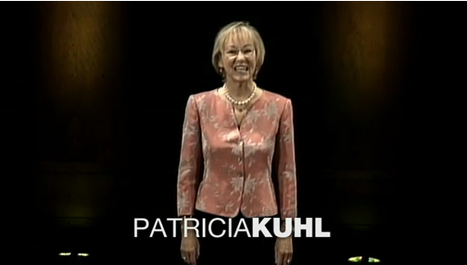 ted talk patricia kuhl Annotated captions of patricia kuhl: but today i'm going to talk to you about something you can't see patricia kuhl: during the.