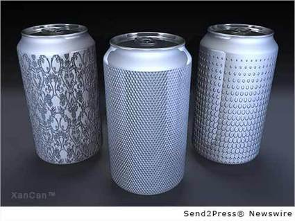XanCan takes the beverage industry by storm with their concept of texturing the sidewalls of aluminum beverage cans | Aluminium packaging | Scoop.it