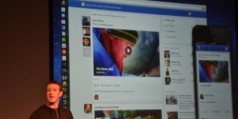 Le nouveau Facebook, plus moderne et plus épuré - BFMTV.COM | Digital Marketing Cyril Bladier | Scoop.it