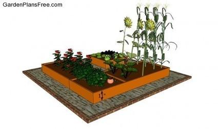 Small Vegetable Garden Plans | Free Garden Plans - How to build garden projects | Gardening Galore | Scoop.it