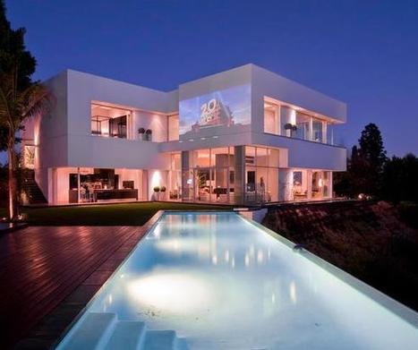 Une luxueuse maison design en Californie | Vill...