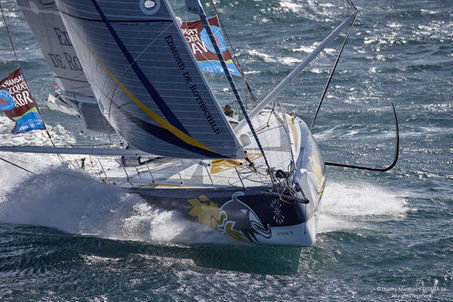 Transat Jacques-Vabre : « On ne vient pas pour figurer » | Stephanie's collection | Scoop.it