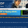 How to rename PDF file with Macro by using A-PDF Rename?