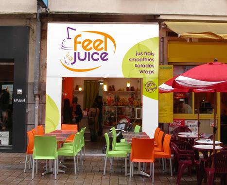 Franchise bar à jus : le chiffre d'affaires de Feel Juice a progressé de 3 % au mois d'août 2012   Actualité de la Franchise   Scoop.it