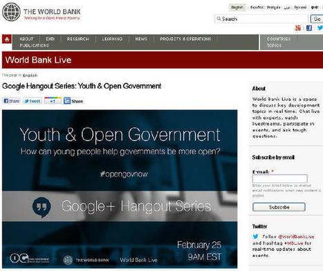 Juventud y gobierno abierto #oGov | Diálogos sobre Gobierno Abierto | Scoop.it