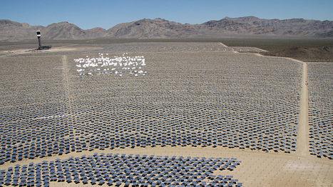 Massive Solar Plant A Stepping Stone For Future Projects : NPR | Sustain Our Earth | Scoop.it