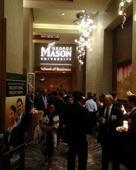 Networking at the Annual Business Celebration | #MasonBizAlum | Scoop.it
