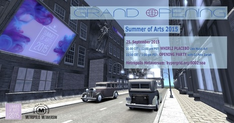 Summer of Arts 2015 @Metropolis Grid | Metatrame | Scoop.it