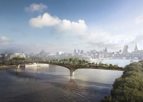 A Londres, un jardin suspendu au-dessus de la Tamise | Architecture pour tous | Scoop.it