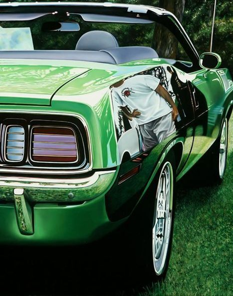 Cheryl Kelley's Photo-Realistic Muscle Car Paintings | Oddity Central - Collecting Oddities | Art Works | Scoop.it