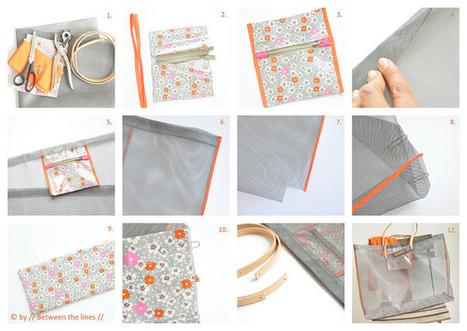 // Between the lines //: Mesh Beach Bag Tutorial!! | autoproduttori | Scoop.it