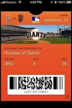La MLB presenta a trece estadios que admiten entradas electrónicas - Marketing Deportivo MD - Novedades del Marketing en el Deporte   Seo, Social Media Marketing   Scoop.it