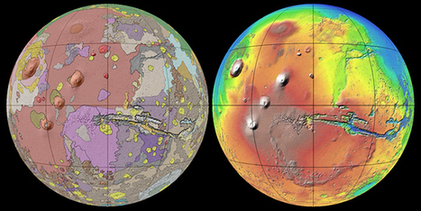 A Beautifully Detailed New Geologic Map of Mars | Geology | Scoop.it