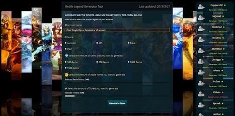 hack mobile legend' in Games | Scoop it