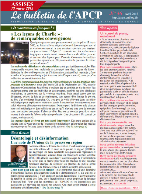 Le bulletin de l'APCP | DocPresseESJ | Scoop.it