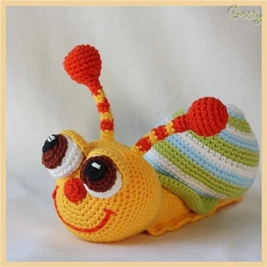 Back post single crochet (bpsc)   Amigurumi tutorial   lilleliis   544x544
