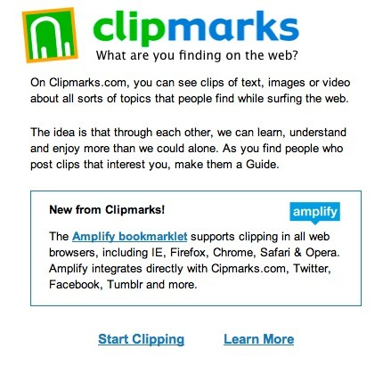 Clipmarks - What are you finding on the web?   Technology Ideas   Scoop.it