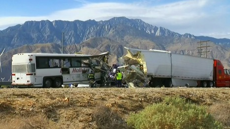 13 Killed, 31 Injured in Tour Bus Crash in Palm Springs CA | California Car Accident and Injury Attorney News | Scoop.it