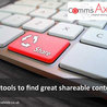 Content Curation tools and topics