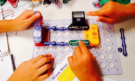9 of the Best Snap Circuits Electronics Kits for Bright Sparks | #Maker #MakerED #MakerSpace #EdTech  | Instructional Technology | Scoop.it