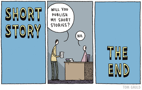'You're All Just Jealous of My Jetpack' - A Compendium of Cartoons by Tom Gauld | Reading, Writing, and Thinking | Scoop.it
