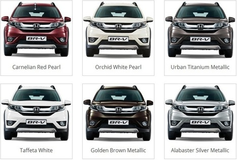 Honda BRV Colours
