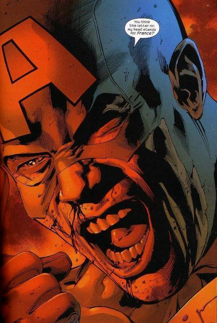 Memorable Superhero Moment - Cap's Rant In The Ultimates | All Geeks | Scoop.it