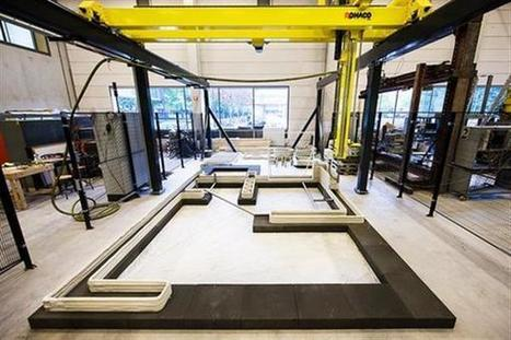 3ders.org - Technical University Eindhoven takes massive concrete 3D printer into production | 3D Printer News & 3D Printing News | Architecture, design & algorithms | Scoop.it