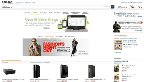 Amazon.com Is Testing a Redesign [REPORT] | Web Technology News | Scoop.it