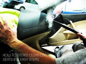 Steam Clean Car Seats >> How To Steam Clean Car Seats In 5 Easy Steps